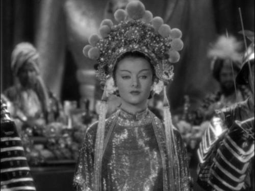 Myrna Loy * in The Mask of Fu Manchu,1932 via From Midnight, With Love