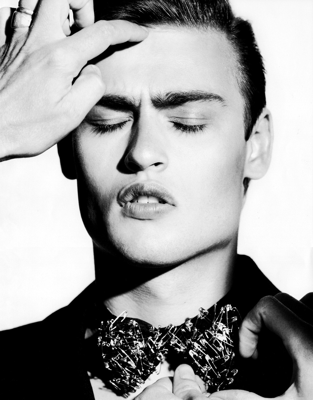 "inamirror:  Douglas Booth for GQ STYLE UK — FALL/WINTER 2010 ""STAR MAN"" by Horst Diekgerdes"