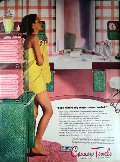 Cannon Towels (1945)