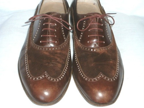 It's On eBay Wilkes Bashford Suede and Calf Wingtips Start at $69.99, end Monday