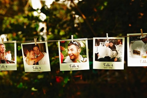 loveforweddings:  This is such a cute idea!  Oh this is fun.
