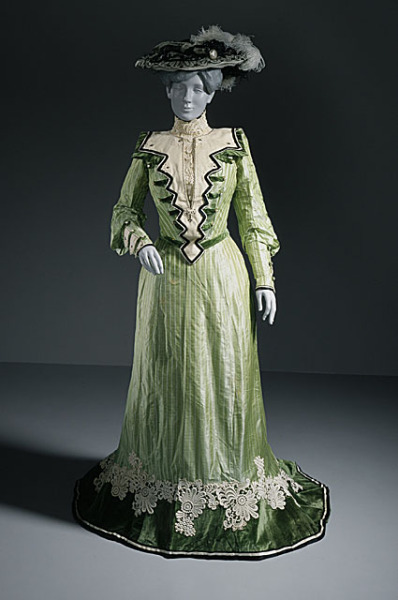 omgthatdress:  House of Virot ensemble ca. 1902-1903 via The Los Angeles County Museum of Art