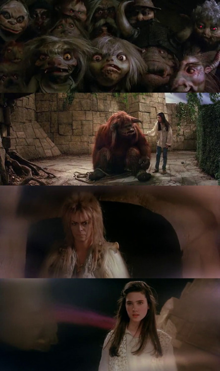 Labyrinth, 1986 (dir. Jim Henson)By cakesandtrucks