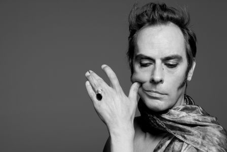 Peter Murphy is a Muslim man who likes his eyeliner.