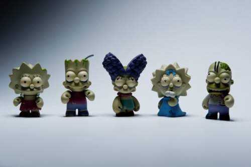 new zombie simpson toys by kidrobot