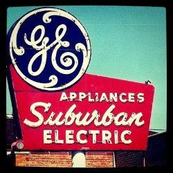 andystone:  GE … Wave of the future (Taken with instagram)