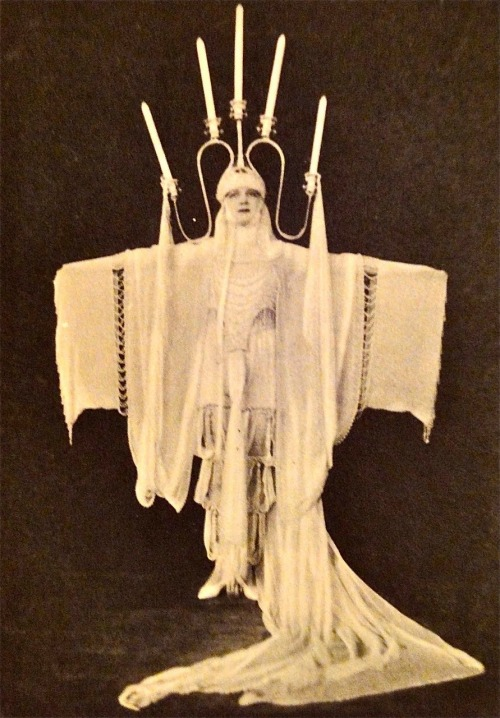 "ziegfeld-follies:  Babe Marlowe as ""Candlight"" for The Midnight Frolics - (1925) Photo:  Alfred Cheney Johnston  (Via Birth-Death Tokyo Blog Spot)"