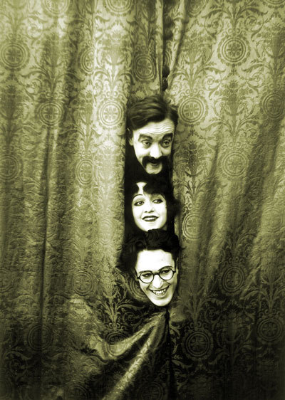 safetylast:  Snub Pollard, Bebe Daniels and Harold Lloyd