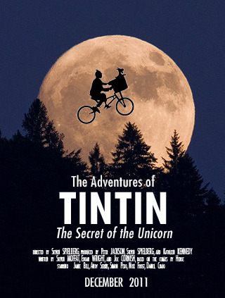 The Adventures of Tintin: The Secret of the Unicorn (2011) by Steven Spielberg