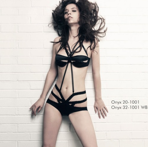 keng001:  Nichole de Carle 2010 Lingerie Look Book > photo 8209 > fashion picture