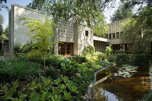 Designer: Frank Lloyd Wright Location: Pasadena, California The Millard House (La Miniatura), 1923