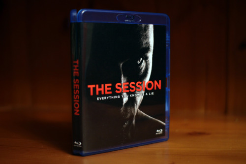 Blu-ray cover artwork for a friends film called 'The Session' previously mentioned here.