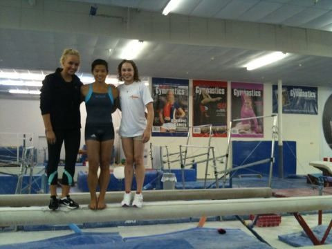 gymnasticsislife:  I see ivana in training gear! Yay!  my thoughts exactly about this photo!