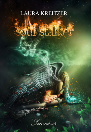 Soul Stalker (Timeless #2) by Laura Kreitzer  Being the Illuminator is not all happiness and light, especially when everyone thinks you are dead. When Gabriella decides to finally let her angels know that she is alive, Joseph and an unexpected friend help her. The Darkness Illuminator is not as in control of her power as she believes, which makes for a very comedic and endearing relationship that blooms between the three. A fender-bender debacle, a run-in with the cops, and a hiccup at the airport seem to all be worth it until Gabriella finds out her plan has backfired. The three angels are missing, more mysteries pile up, and a new evil is brewing – so terrifying, in fact, that even the Soul Stalker herself is cowering in fear. Our heroine begins a jarring, romance-filled, heart-breaking journey that will lead her back to Italy, and ultimately to the answers she is desperately searching for. What will she do when they aren't the answers she expected? What happens when she unveils a truth, so deeply hidden, that it causes an angelic war? Published September 30th 2010 by Obsidian Mountain Publishing  (via Goodreads | Soul Stalker (Timeless #2) by Laura Kreitzer - Reviews, Discussion, Bookclubs, Lists)