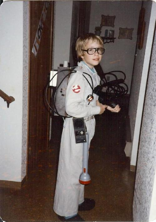 Show & Tell: Halloween Parade darthsarcasm: That was 1984 and I was 11 years old. What a geek I was even back then!
