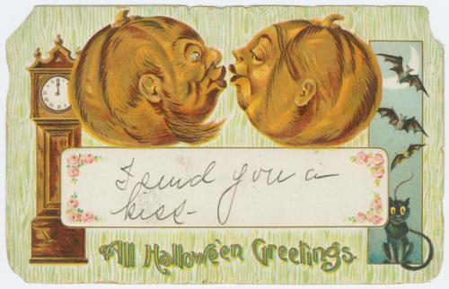 earwigbiscuits:  Hallowe'en postcard published by Gottschalk, Dreyfuss & Davis, c.1908