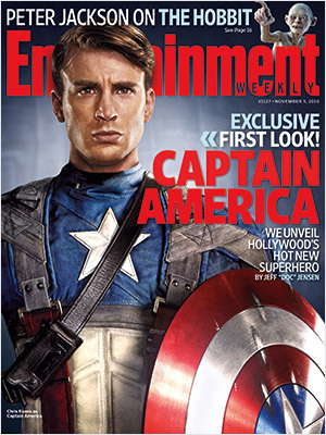 First look at Captain America!