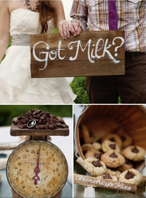 Cookie wedding.