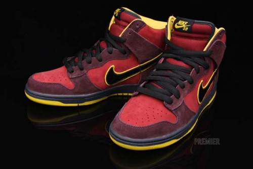 Nike SB Dunk High Premium – Iron Man/Un Lobster