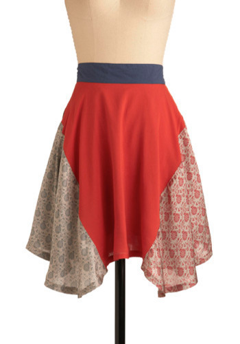 "Tulsi Tea Skirt: $59.99 Honestly, the copy this time verges on being offensive. Like the worshiped ancient plant, you'll be rare and appreciated when   you wear this fully-lined patchwork skirt by Moon Collection. Revel in   how holy you feel when you twirl - the satiny fabric, the richly   saturated colors and hindi-inspired patterns brushing softly at your   knee. As if holiness is as simple as putting on a (vastly-overpriced) skirt with ""hindi-inspired"" patterns! Also, the skirt is just ugly."
