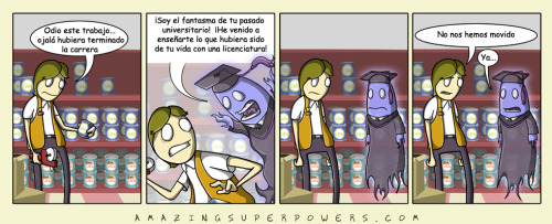 Amazing Super powers, por Wes & Tony, http://www.amazingsuperpowers.com/ 2010-10-29