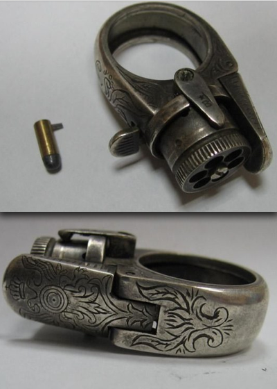 whiteafro:  Gun Ring