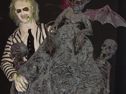 (Image by Snapshot Boy) Beetlejuice at the Hollywood Wax Museum