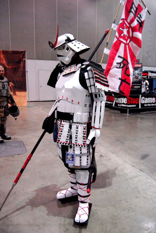 Awesome Samurai Stormtrooper | My Disguises - We Love Costumes