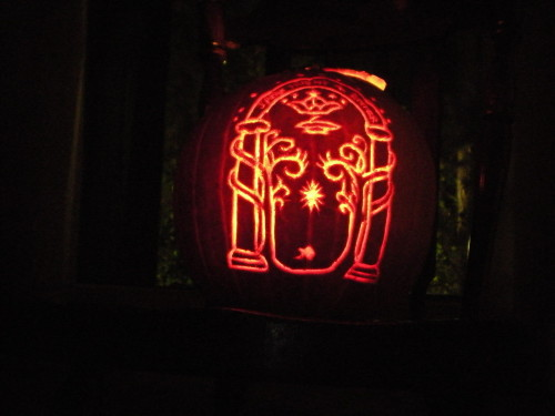 ma gates of moria pumpkin