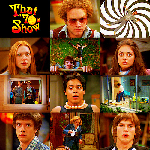 "barkingsparrows:  Favourite Halloween Episodes | That 70s Show 3.04 - ""Too Old to Trick or Treat, Too Young to Die""  You know what would be fun? If we were in an Alfred Hitchcock movie right now, and we didn't know it. And then, someone told us and we were like, ""Oh man, I'm in a movie!"""