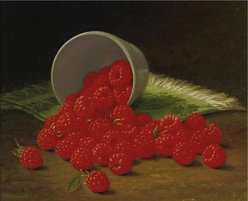 John E. Grouard Raspberries 19th century