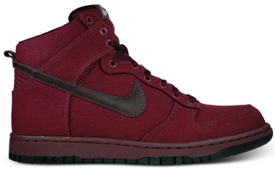 Nike Dunk High Premium – Deep Garnet / Black