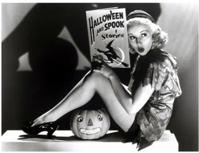 Betty Grable misslandy:  happy halloween ?