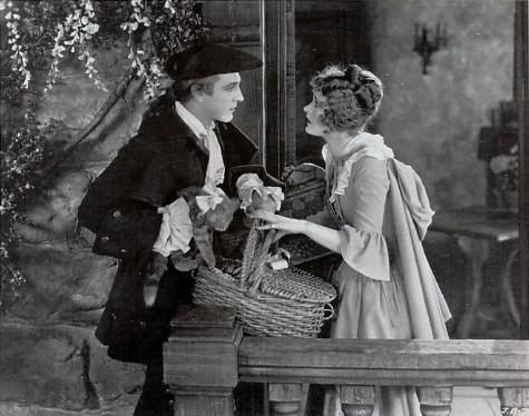 John Barrymore and Dolores Costello When A Man Loves - (1927)
