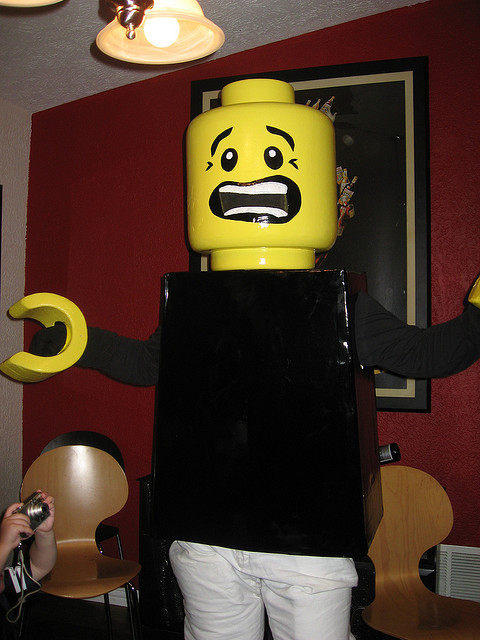 Lego man costume (by jasonkongabel)