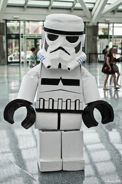 Lego Storm Trooper (by Jason)