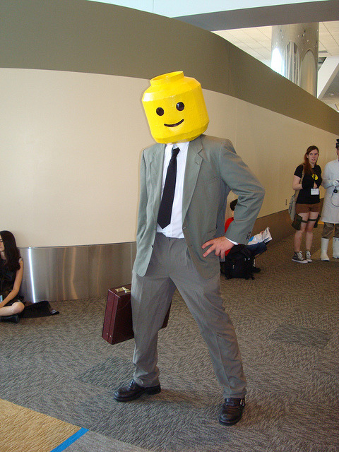 Lego Man Cosplay @ Otakon 2010 (by Dreaming Magpie)