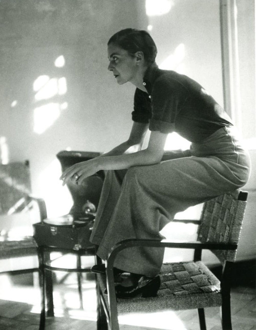 Lisa von Cramm, Berlin, 1934  by Marianne Breslauer [also] via everyday_i_show