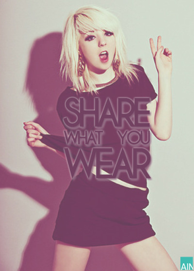 Share what you wear!  photo reply with your outfit today!