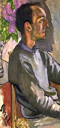 Frank O'Hara / Alice Neel / Oil on canvas, 1960 / National Portrait  Gallery, Smithsonian Institution; gift of Hartley S. Neel; © Estate of  Alice Neel
