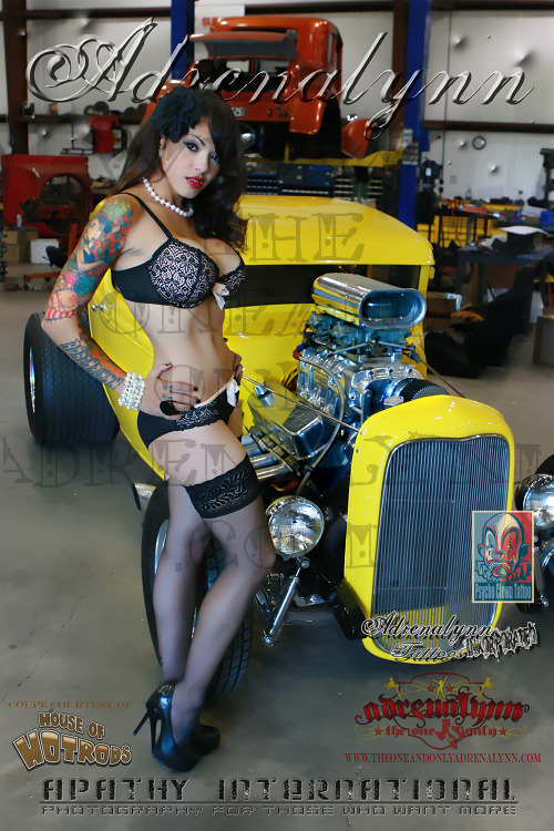 The brand new pinup poster with a yellow 1932 Ford coupe is in! Get yours today :]  Original Article
