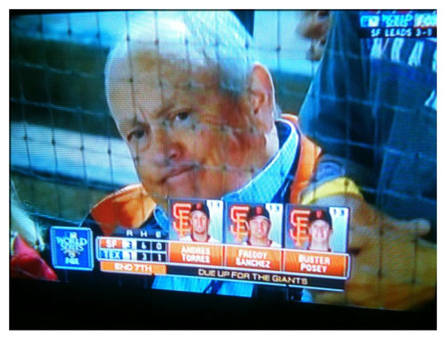 Nolan Ryan Face #WorldSeries Go #SFGiants! #MLB  I have the utmost respect for the Great #HOF pitcher…it's just that his facial expressions have been classic during the Fall Classic.