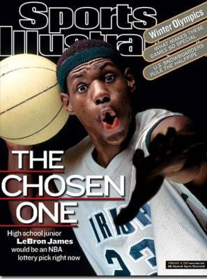 Lebron James SI Magazine Cover