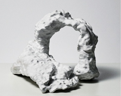 Marie T. Hermann. Untitled #1 (2010). Earthenware. Devening Projects + Editions, Chicago.