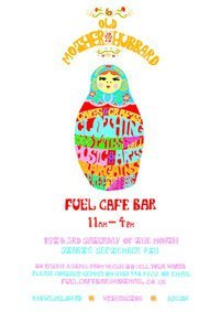 A twice monthly market upstairs at Fuel Cafe Bar. Music, Art, Cake, Vintage clothing, Handmade Jewelry, Specialist vinyl, Swap Shop a Knitting circle and much more! November dates : Saturday 6th November & Saturday 20th November between 11-4