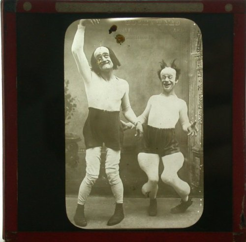 1870s Clowns. (via livejournal)