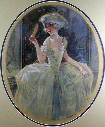 """The Vanities"" by Maurice Milliere C. 1920s for La Vie Parisienne Magazine   (via Grapefruit Moon Gallery)"