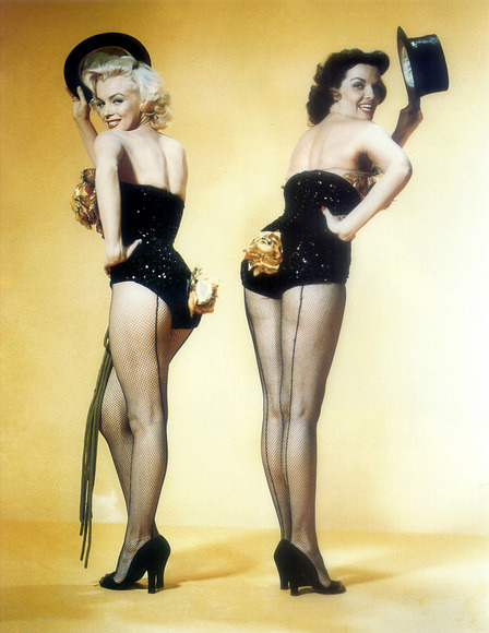 Gentlemen prefer blondes 1953 Jane Russell Marilyn Monroe