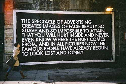 the spectacle of advertising