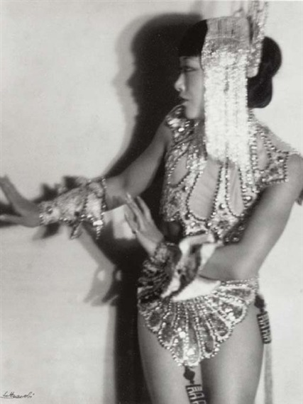Anna May Wong, c. 1930 by Lotte Johanna Jacobi *
